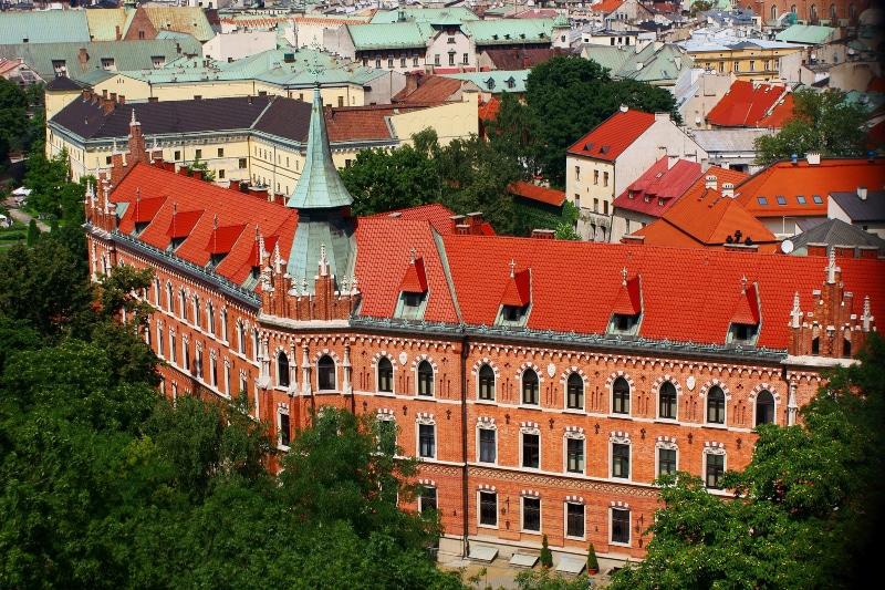 Roteiro em Cracóvia