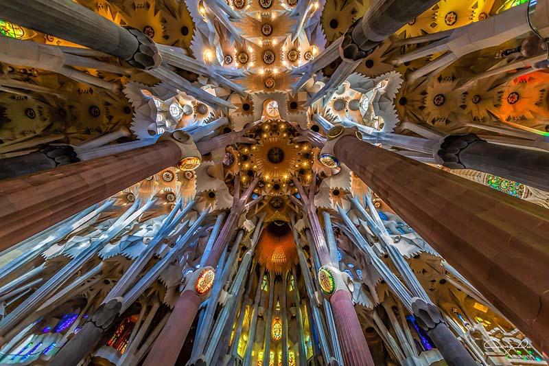 Fotos da Sagrada Família