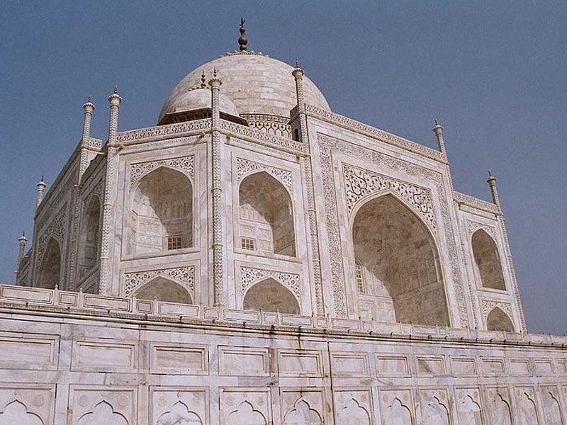 Taj Mahal de dia