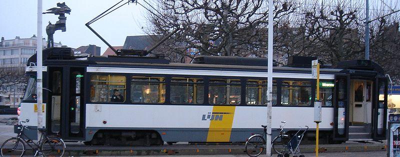 Tram em Gent