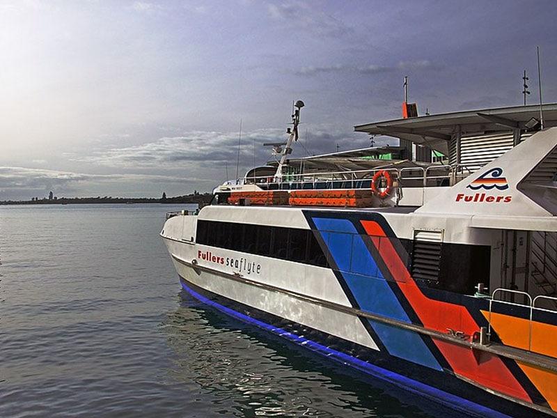 Transporte em Auckland marítimo