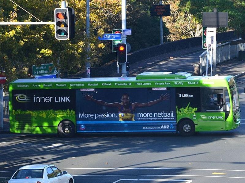 Transporte em Auckland no centro