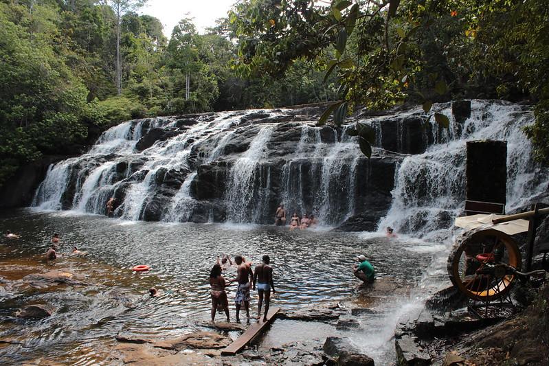 Cachoeiras na Bahia