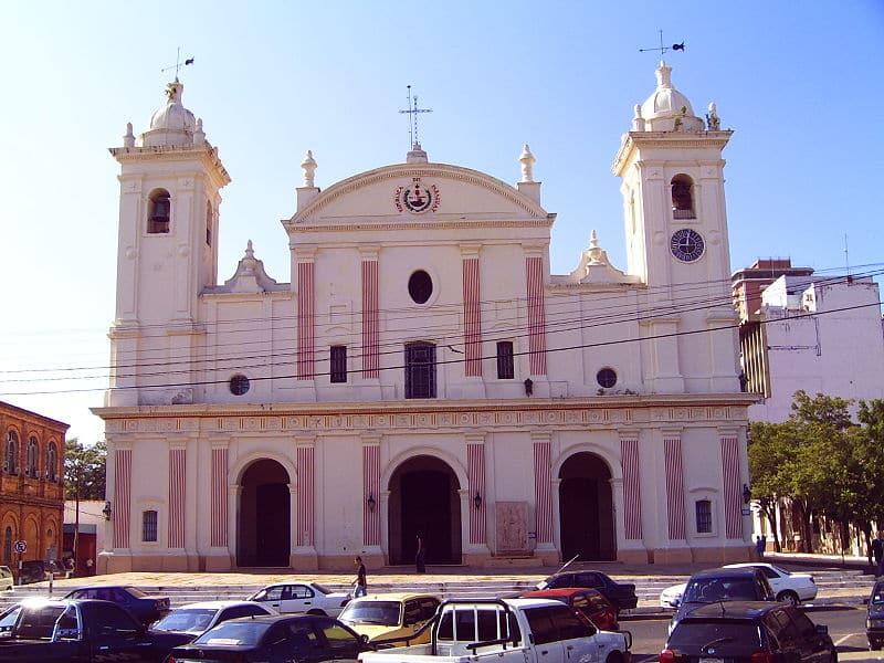 atrativos de assunção Catedral