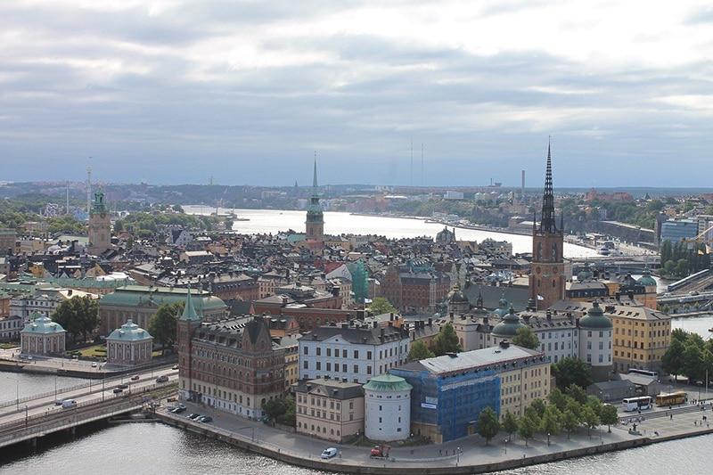 Tour de trem em Estocolmo