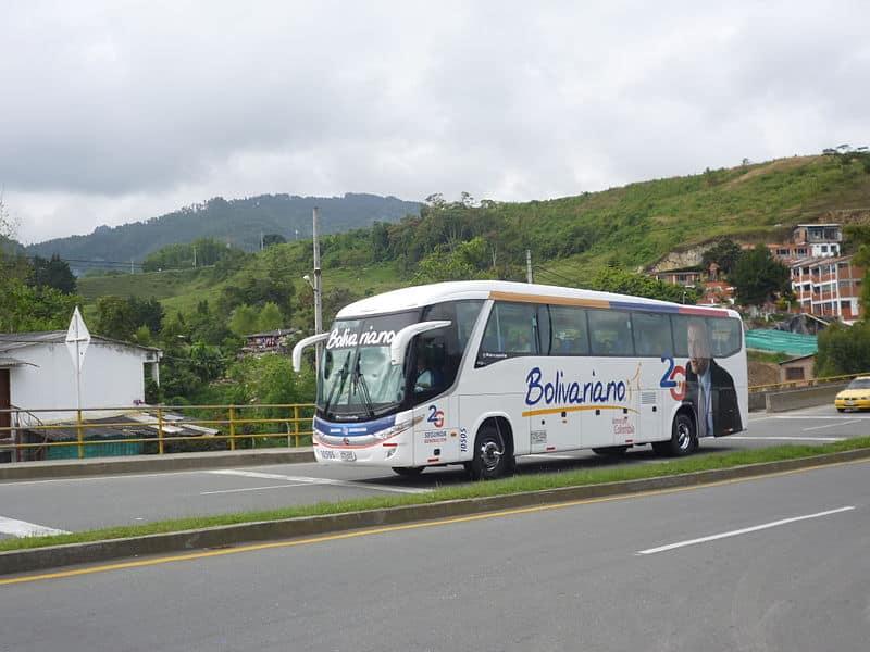 Ônibus em Medellín