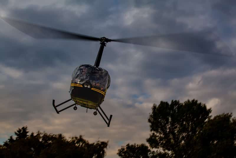 helicóptero na colômbia