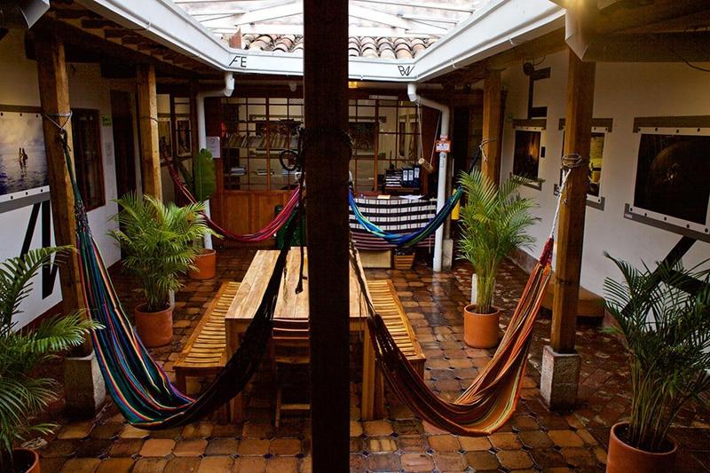Hostel no centro de Bogotá