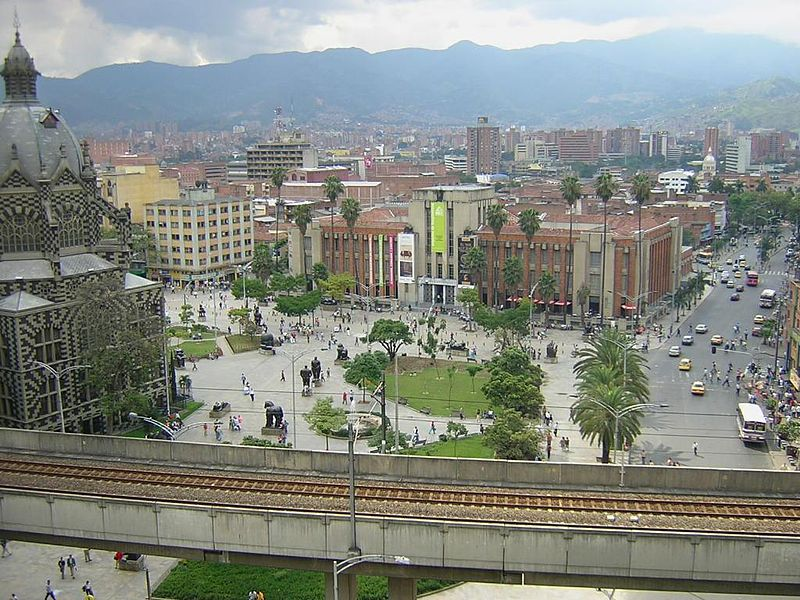 Medellín Plaza Botero