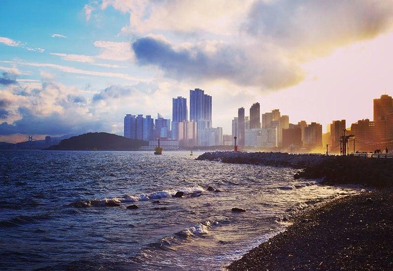 Praias de Busan