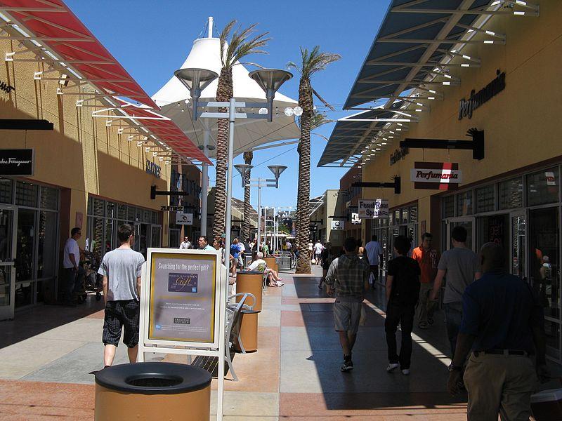 Roteiro em Las Vegas de compras
