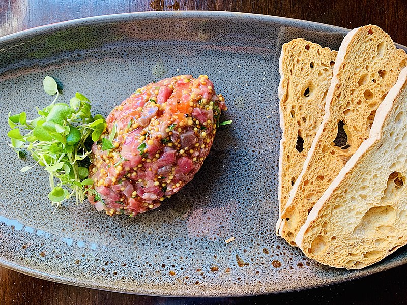 Steak tartare Bélgica