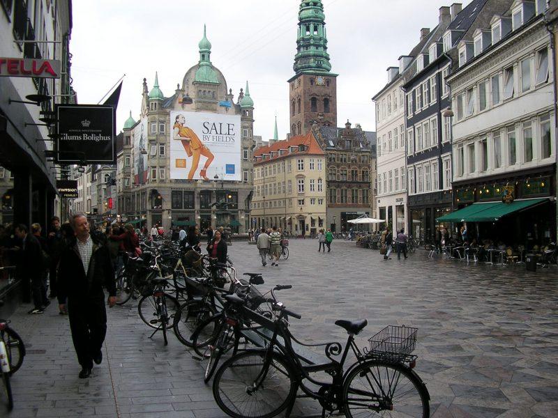 Strøget, na Dinamarca