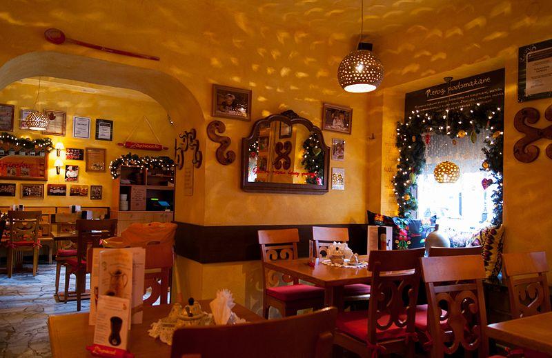 restaurantes em varsóvia