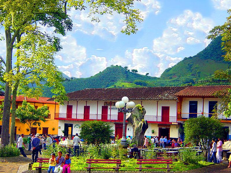 Cidades perto de Medellín charmosas