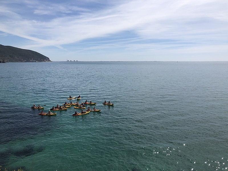 passeio de canoa em setúbal