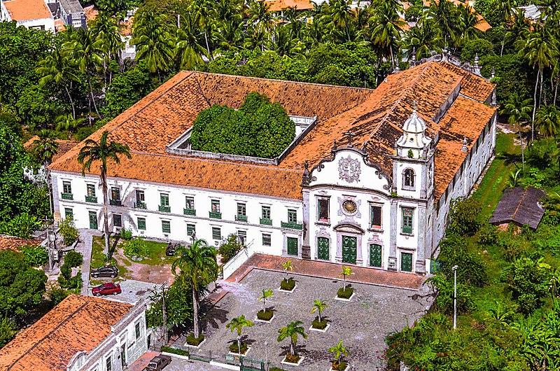 Pontos turísticos de Olinda - Mosteiro de São Bento