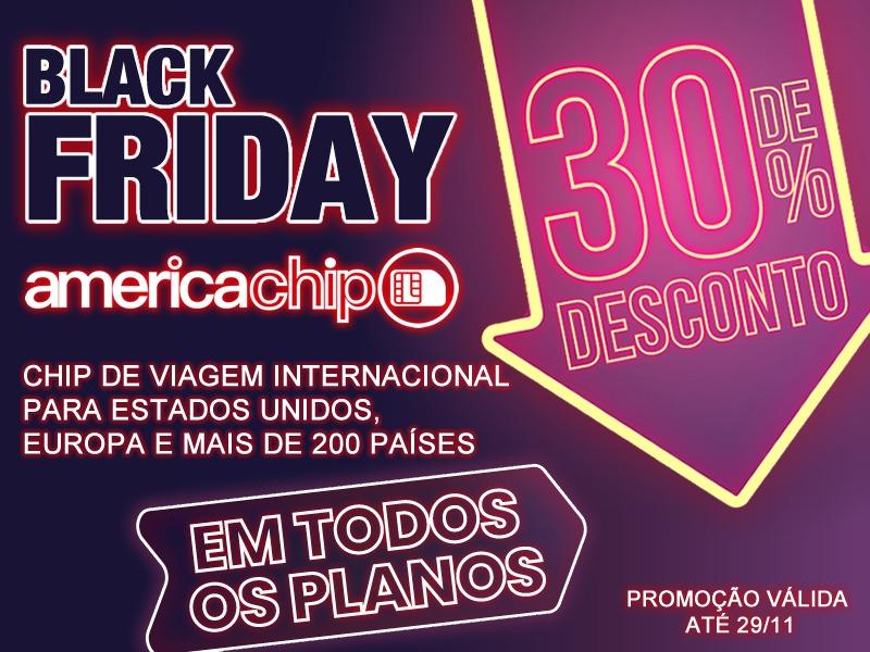 Black Friday da America Chip