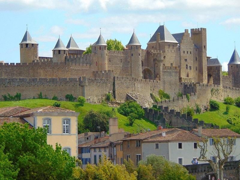 pontos turísticos de carcassonne