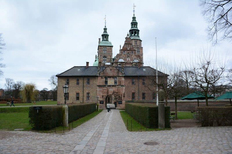 Castelo de Rosenborg, na Dinamarca