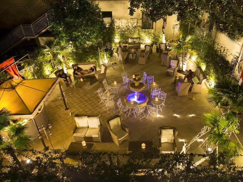 hotéis clássicos em roma
