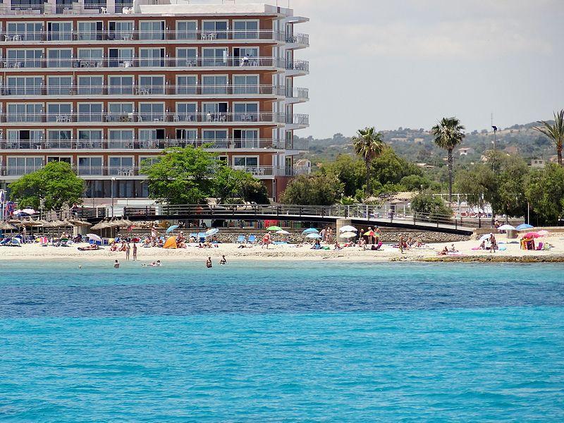 Praias tranquilas em Maiorca