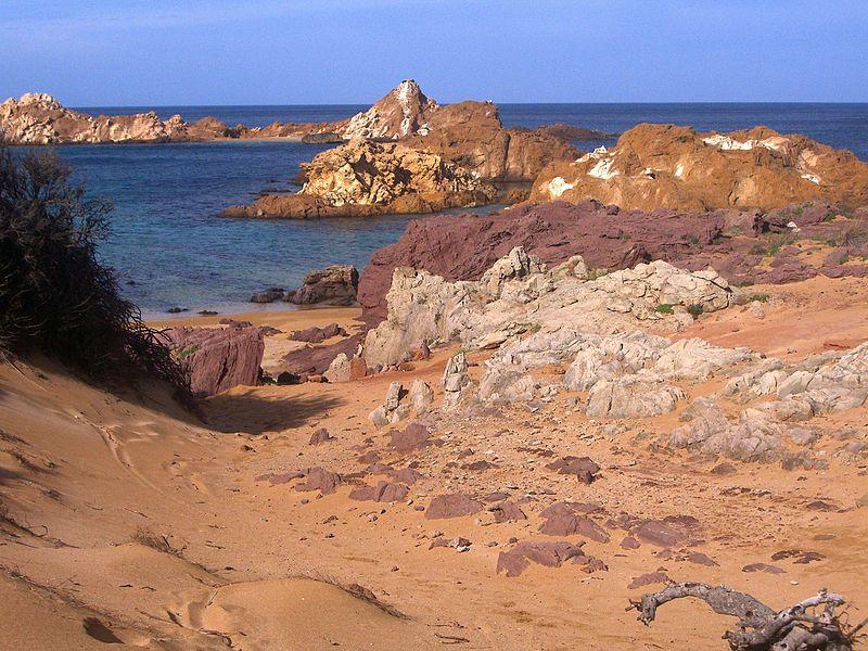 Praia marte Espanha