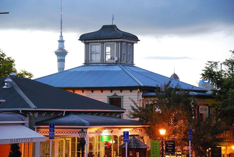 Quais feiras fazer compras em Auckland