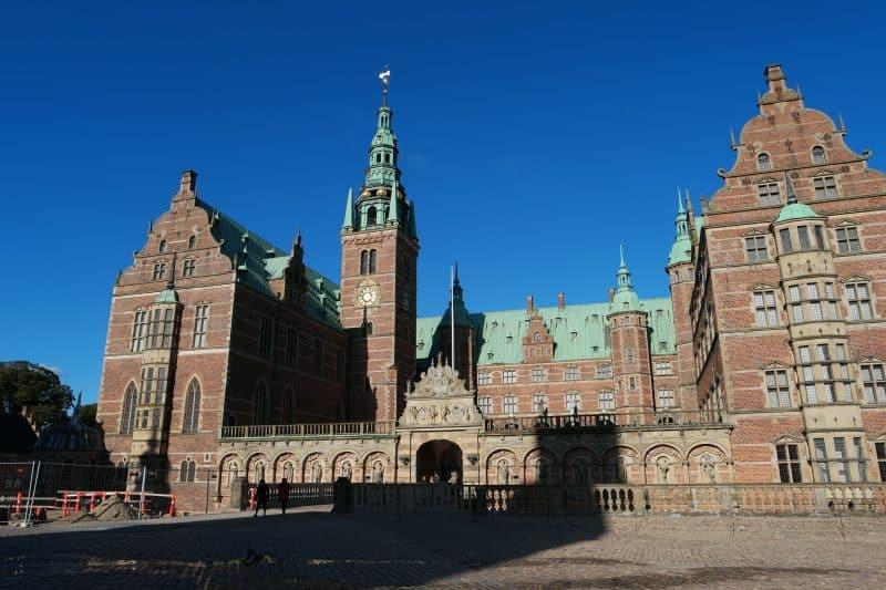 Palácio de Frederiksborg, na Dinamarca