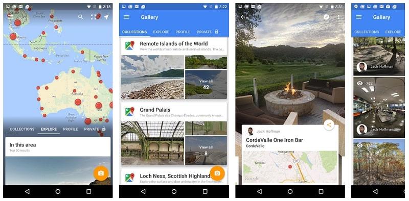 Como usar o Google Maps e Street View