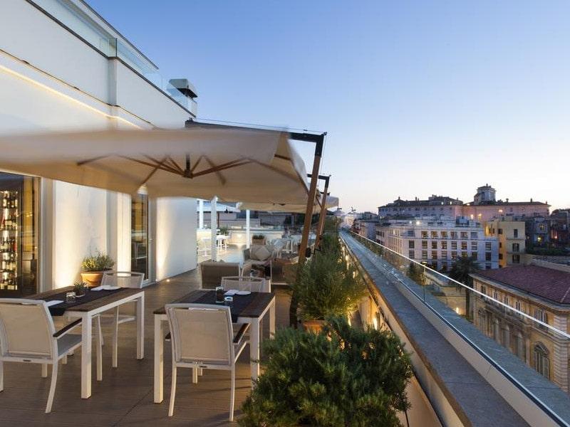 hotel com vista panorâmica em roma