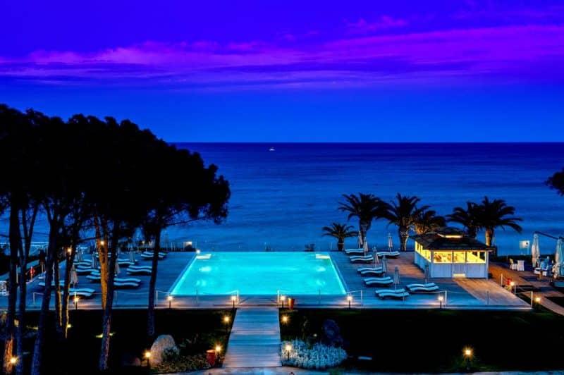 Hotéis na Sardenha cinco estrelas