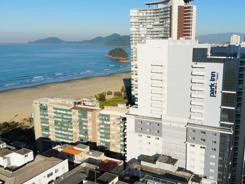 hotel em santos proximo a praia