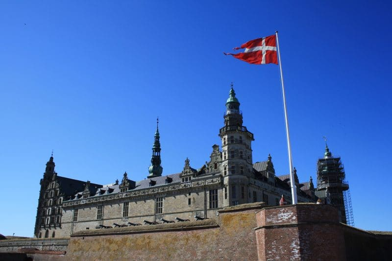 Castelo de Kronborg, na Dinamarca