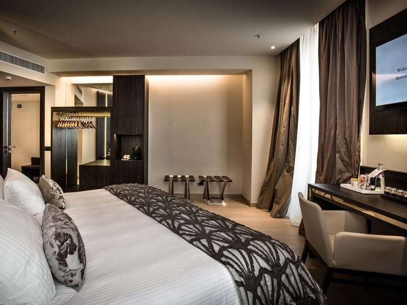 hotéis luxuosos em milão