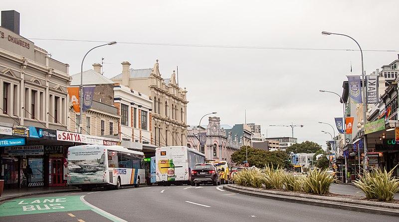 Quais ruas fazer compras em Auckland