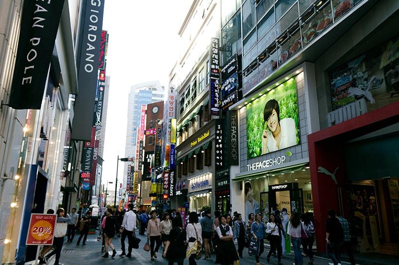 Compras em Seul