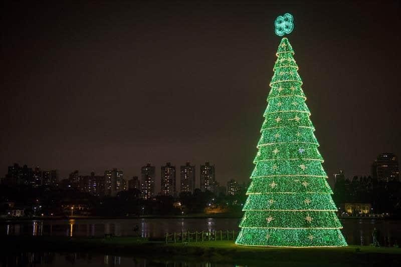 Onde ficam as Árvores de Natal em Curitiba mais bonitas?