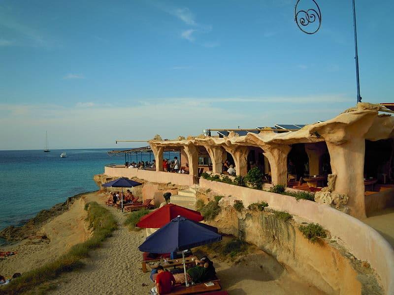 Praias famosas em ibiza