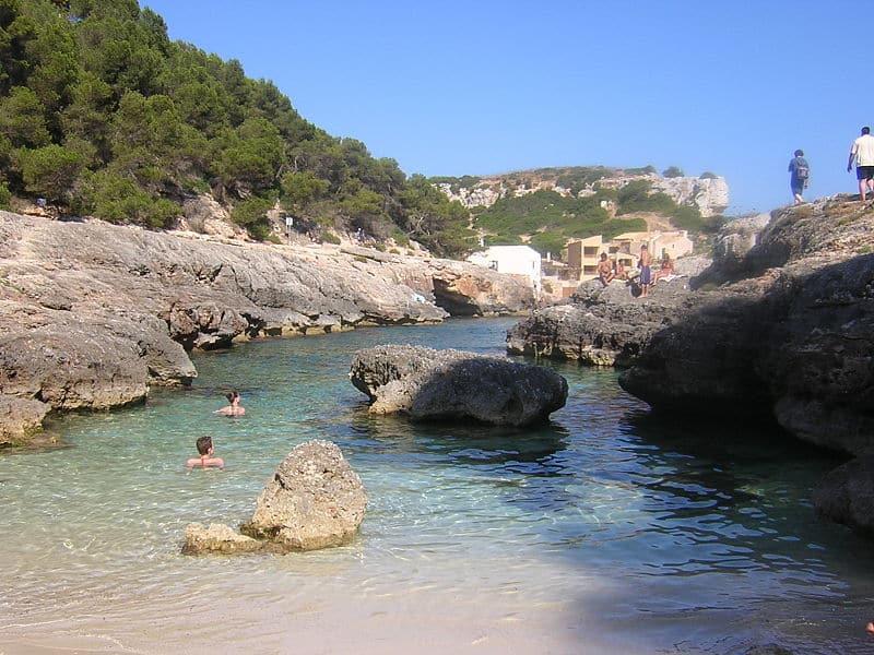 Praias para nadar Maiorca