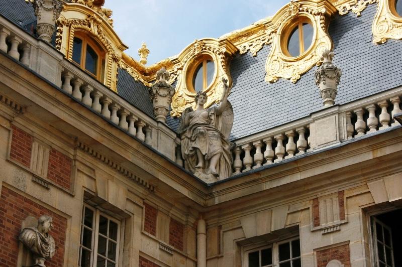 Palácio de Versalhes detalhes