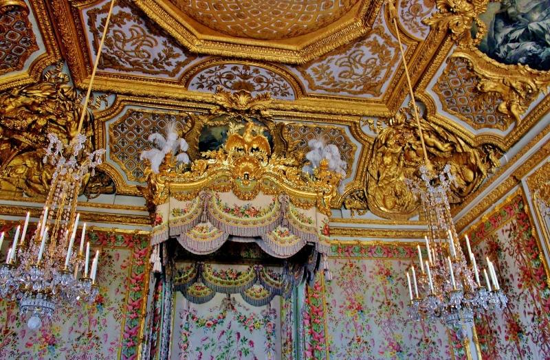 Palácio de Versalhes por dentro