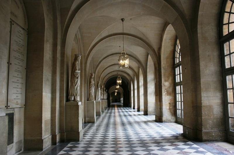 Palácio de Versalhes divisão