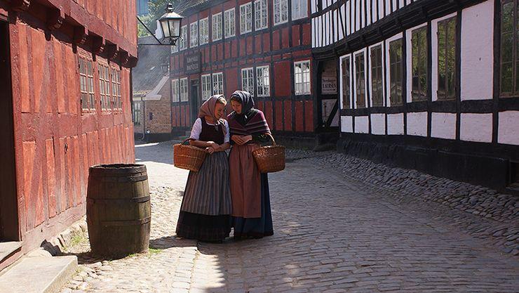 Den Gamle By, na Dinamarca