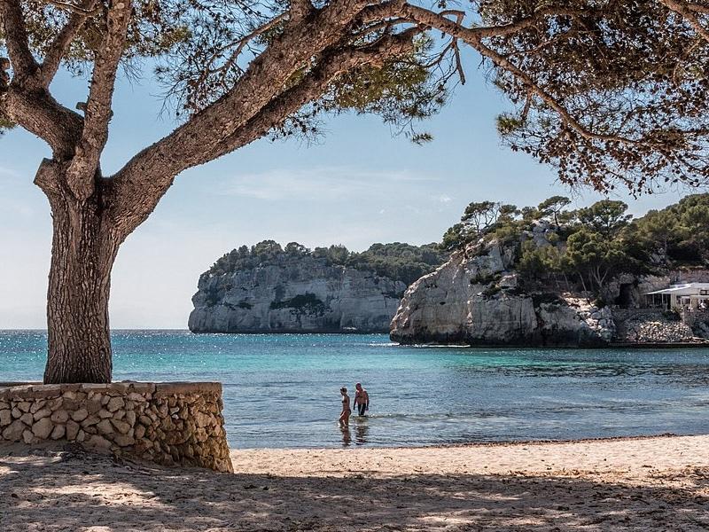 Praias românticas na Espanha
