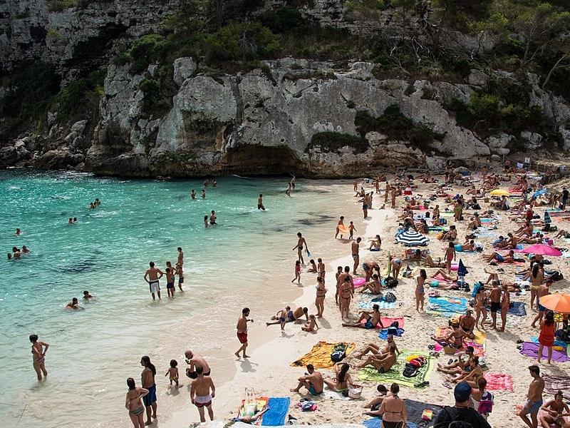 Praias virgens em Menorca