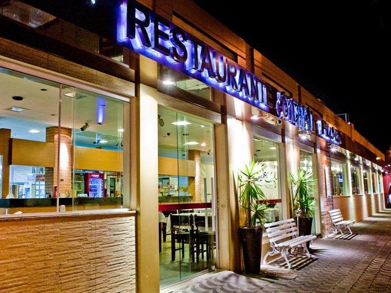 restaurante diferente em santos