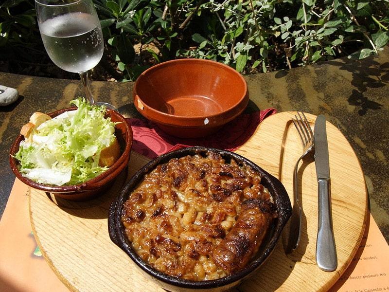 o que comer em Carcassonne