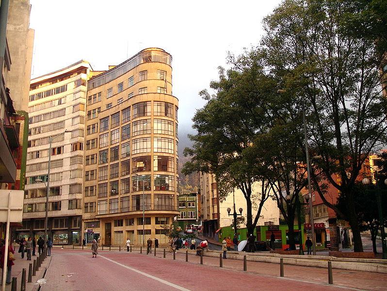 Onde não ficar em Bogotá