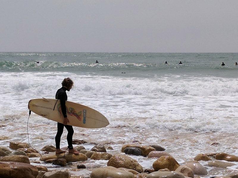 onde surfar no algarve